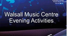 Walsall Music Centre Evening Activities