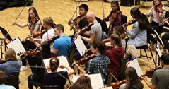 CBSO student play along