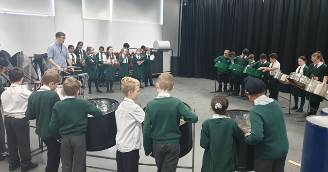 World Music Day with Blackwood Primary School