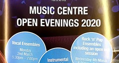 MUSIC CENTRE OPEN EVENING